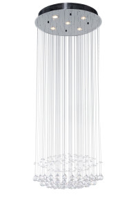 Lampadario Falling Diamonds Kare Design