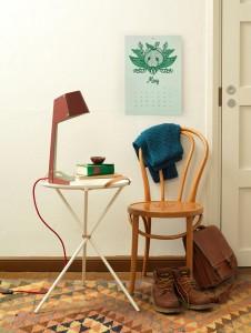 lampada su tavolino